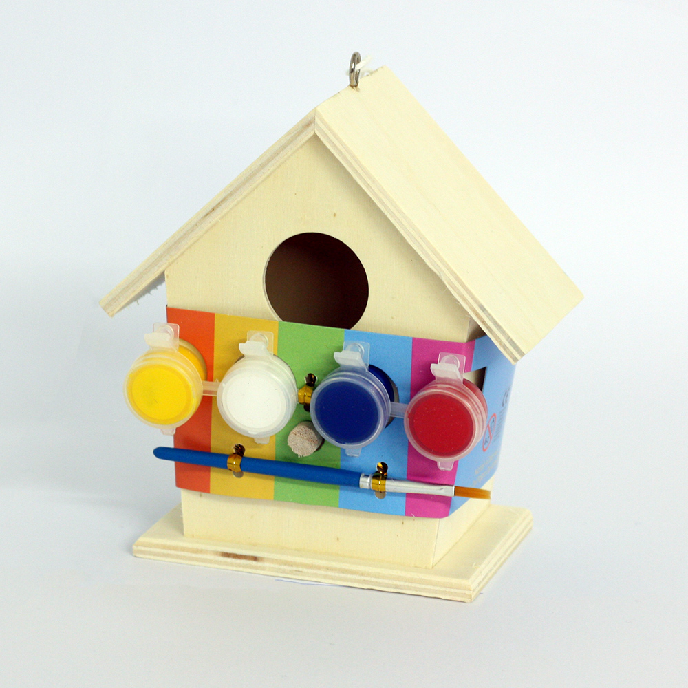 Paint Your Own Bird House Have A Mooch