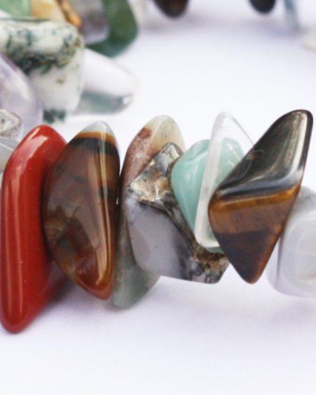 Semi-precious gemstone bracelet