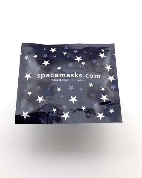 Spacemask eye mask in single sachet