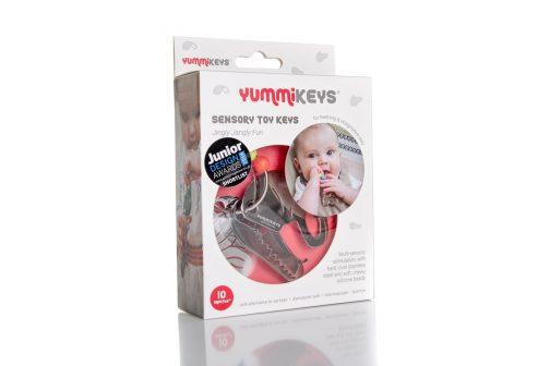 YummiKeys teething toy boxed
