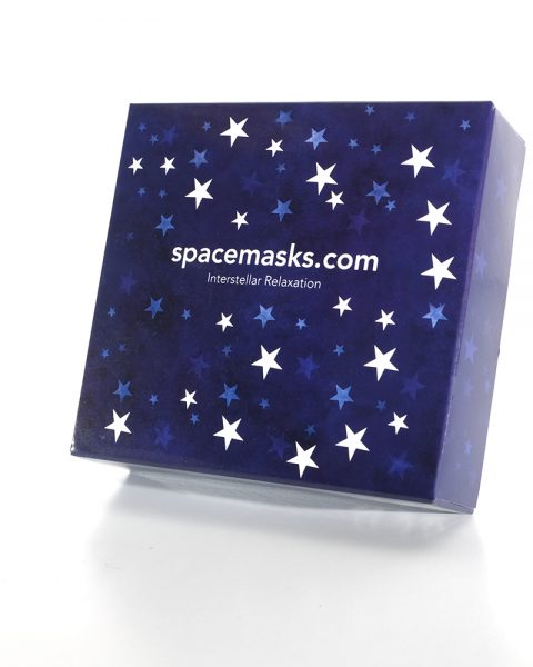 Box of 5 individually wrapped Spacemask eye masks