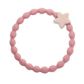 pink enamel star bangle band