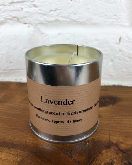 St Eval Lavender Scented Candle Tin