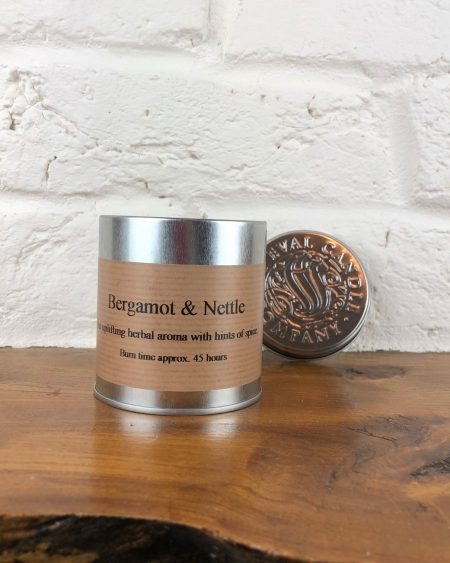 St Eval Bergamot & Nettle Candle tin