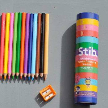 Stib Inspirational Jumbo Colouring Pencils