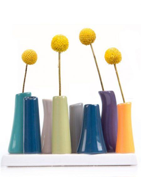Multi-Stem Vibrant Vase