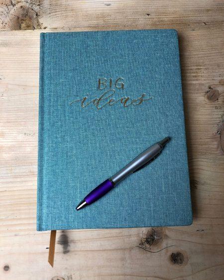 Big Ideas Book Cloth Notebook