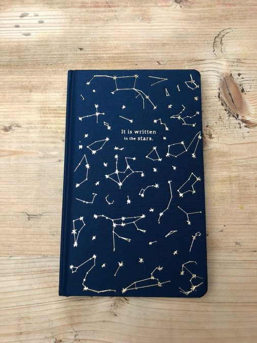 Its written in the stars hardback journal