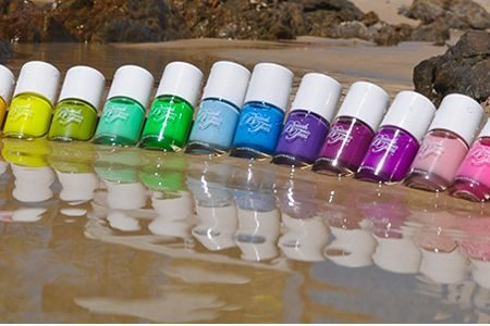 Beach Toes Glossy Top Coat – Jellyfish