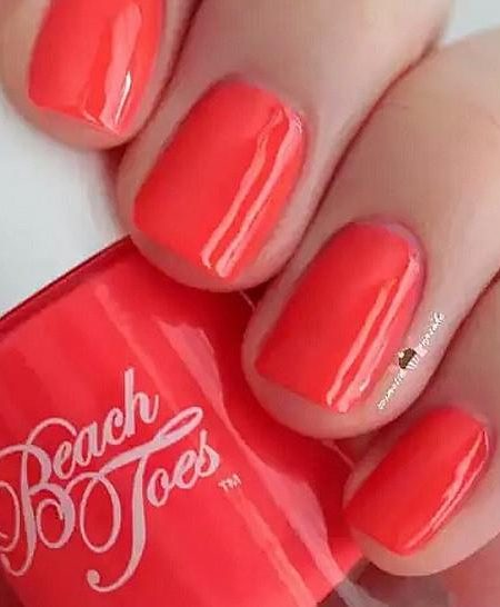 Beach Toes Coral Nail Polish – Starfish