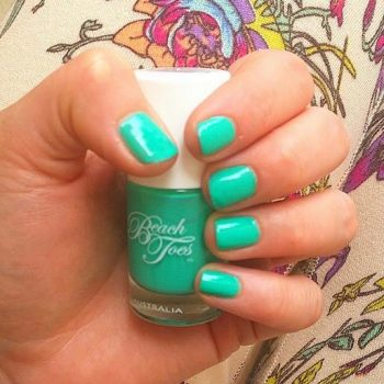 Beach Toes Nail Polish – Caribbean Crush