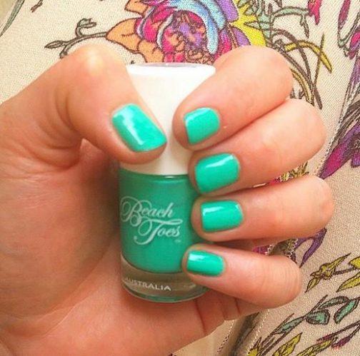 caribbean crush, beach toes nail varnish, beach toes nail polish