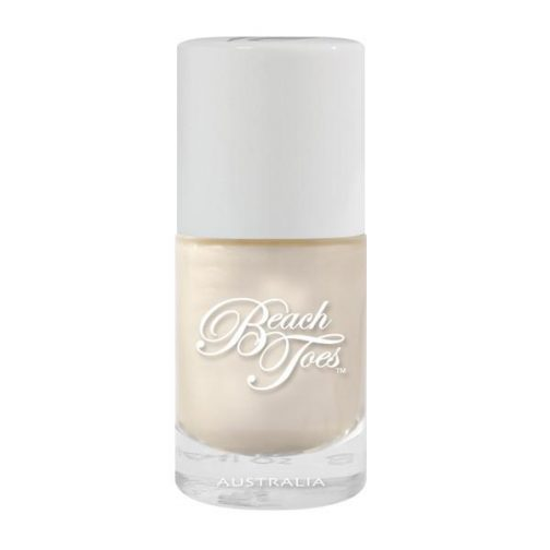 Beach Toes Nail Polish in Pearl Necklace, ideal shade for wedding day