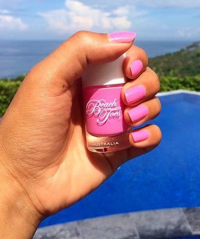 Beach Toes Nail Polish – Pink Bikini