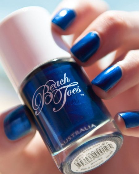 Beach Toes Nail Varnish – Deep Sea Diver