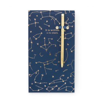 "List-pad and pen – ""Its written in the stars"""