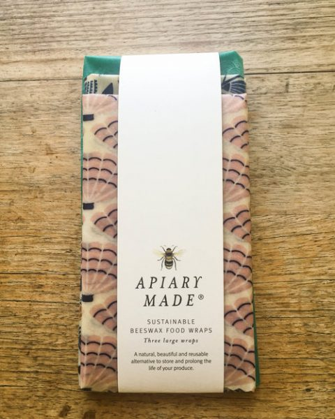 Sustainable Beeswax Food Wraps – x3 Large