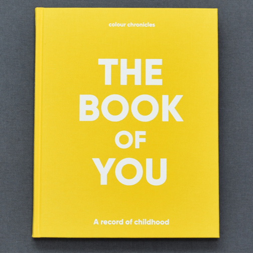 Baby Book Of You - Yellow