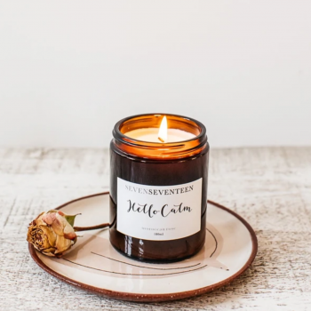 Hello Calm – Moroccan Rose Candle by SevenSeventeen