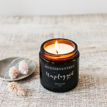 Unplugged – Black Oud Candle by SevenSeventeen
