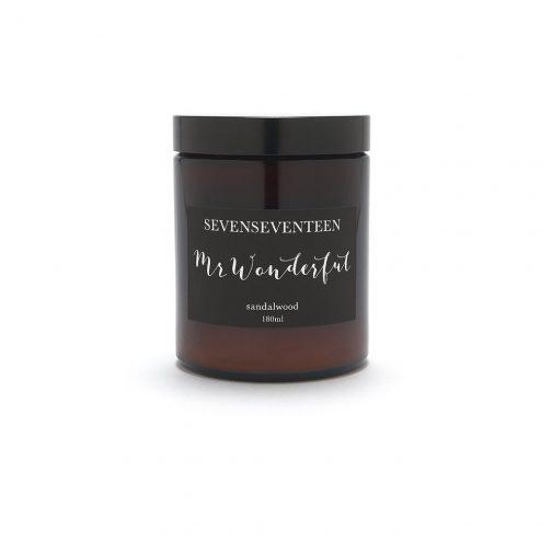Sevenseventeen Mr Wonderful Candle
