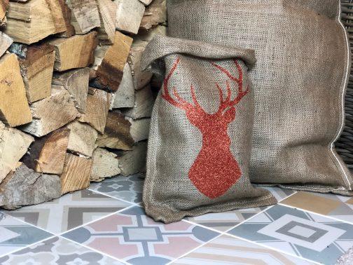 hessian gift bag