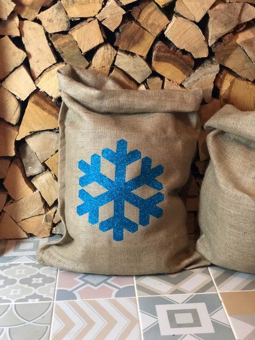hessian santa sack