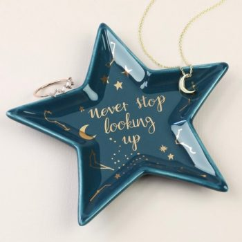Ceramic Star Trinket Dish