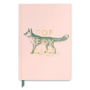 For Fox Sake Hardcover journal / notebook