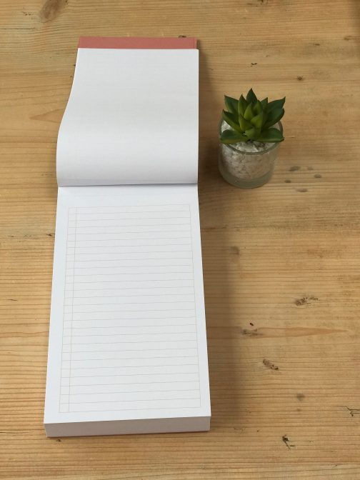 to do list note pad