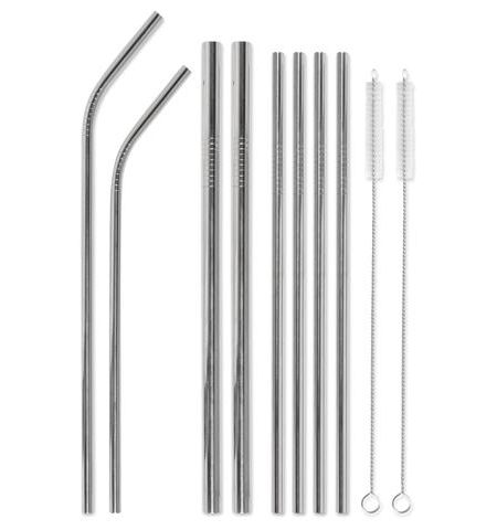 Stainless Steel Straw Set – This is the last straw
