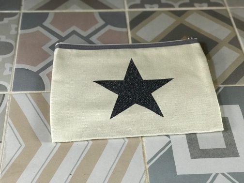 canvas make up bag