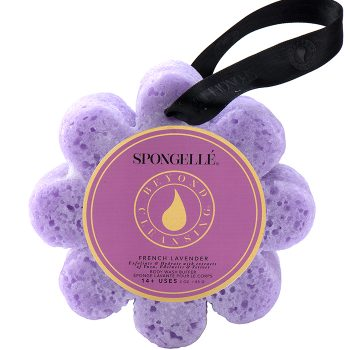 Spongelle Body Wash Infused Sponge – Lavender