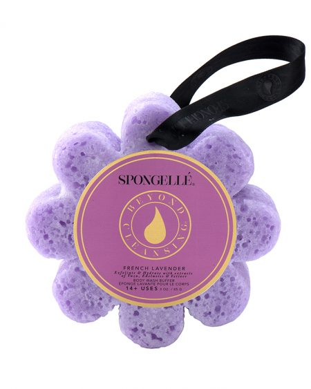 Spongelle Body Wash Infused Sponge – Lavender