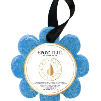 Spongelle Body Wash Infused Sponge – Freesia Pear
