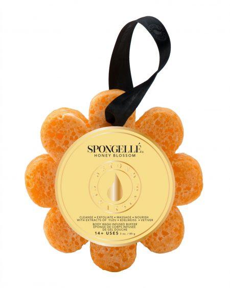 Spongelle Body Wash Infused Sponge – Honey Blossom