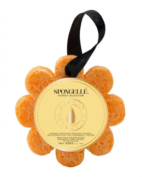 Spongelle Body Wash Infused Sponge – Honey Blossom