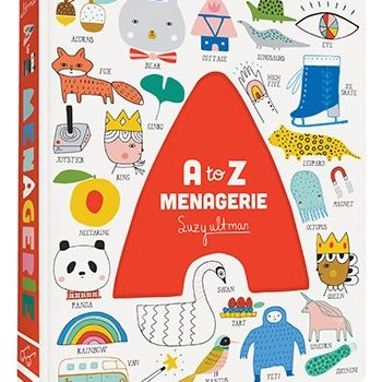 A to Z Menagerie – Board Book for Babies & Toddlers