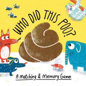 Who Did This Poo? Matching & Memory Game *Pre-Order for Jan delivery*