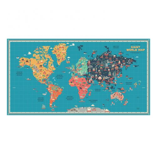 Giant map poster