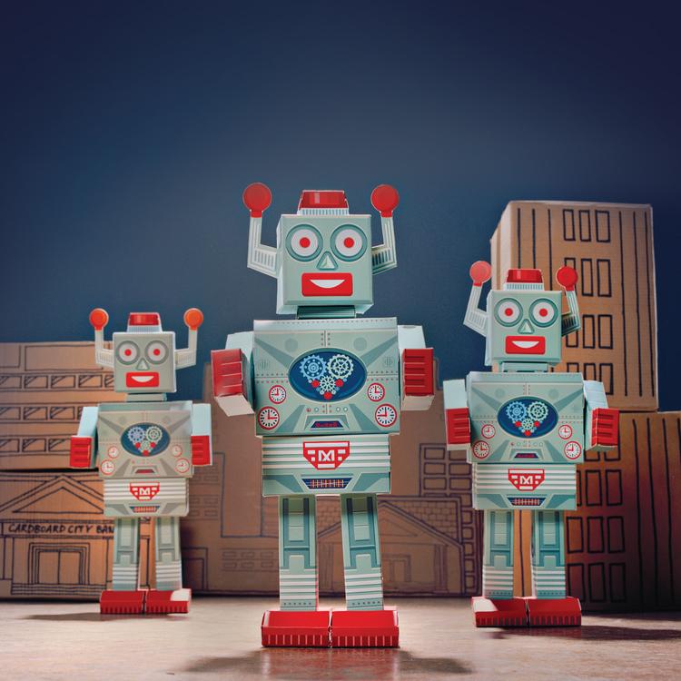 build a robot, mega-bot