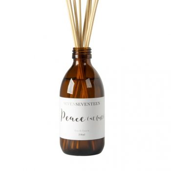 Peace At Last, Fresh Linen Diffuser by SevenSeventeen