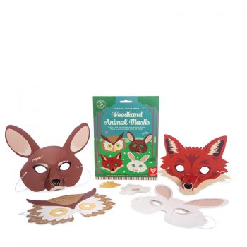 Create your own 3D Woodland Masks