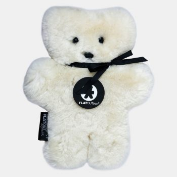 100% Sheepskin Flat Out Bear – Milk