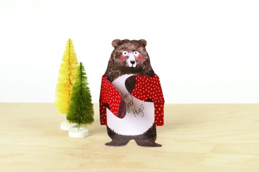 bear notecards