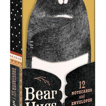 Notecards: Set of 12 Bear Hugs notecards