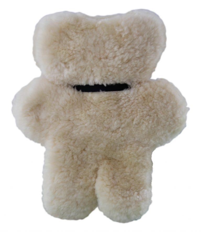 sheepskin flat bear
