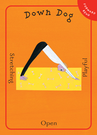 yoga activity cards