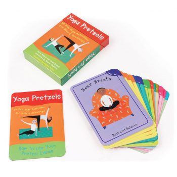 Yoga Pretzels – Childrens Yoga Activity Cards