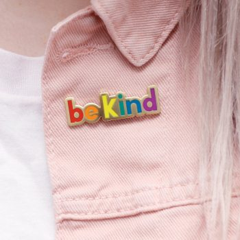 Be Kind Rainbow Enamel Pin